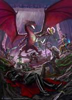 Fight a Dragon by charro-art