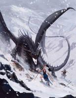 The Dragon Emperor by charro-art