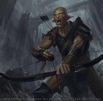 Zirakzigil Archer by Javier Charro Martinez by charro-art