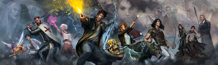 The Dresden Files GM screen by charro-art