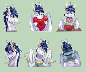 More Expressions~ by TheAngelDragon