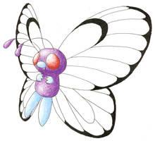 Butterfree by nin10do-gamer