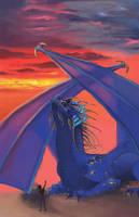 Lapis Lazuli Dragon - Deltora Quest by Kira108