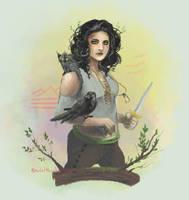 Jasmine - Deltora Quest by Kira108