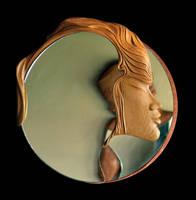 design mirror - woman by ayhantomak