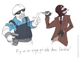 TF2 Language Lessons: French by gogglesonmyhead