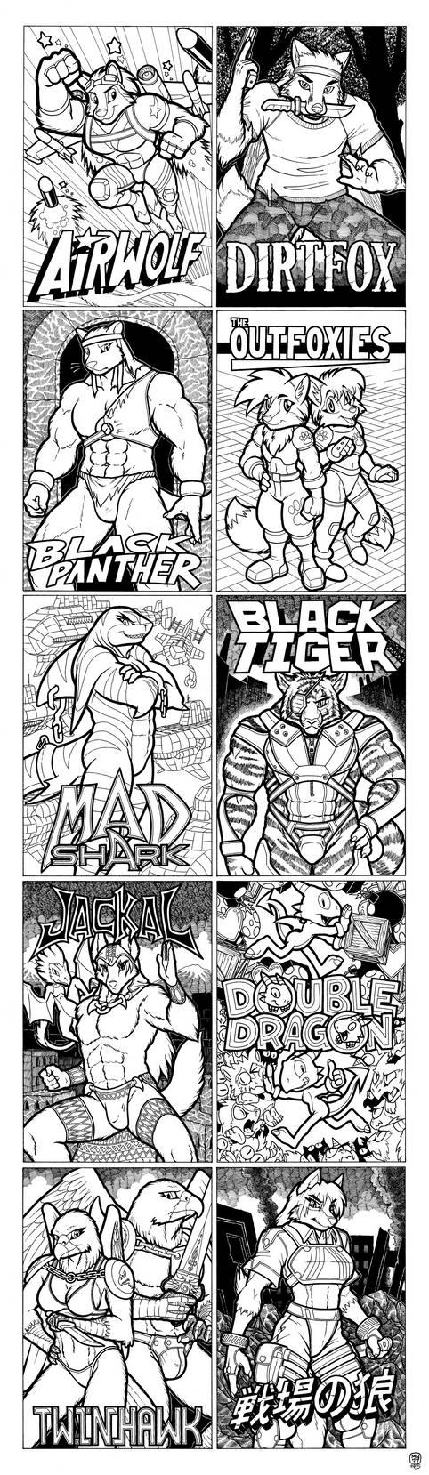 - Misinterpreted Classic Arcade Titles - by megawolf77