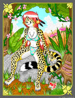 The Philippine Cheetah -final- by megawolf77