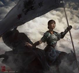 Lady of the Fallen by RobotDelEspacio