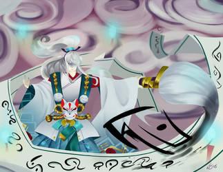 Hangan, Merciful Judge [Onmyoji contest entry] by DeviousVampire