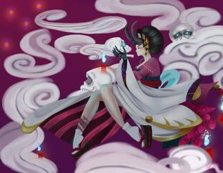 Lady Enma [contest entry] by DeviousVampire