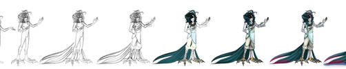 Harpy!Andy progress by DeviousVampire