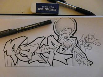 fake sketch1 by fake173
