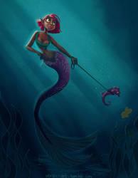 Mermaid  by vmtr89