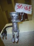 Chibi-Robo on Strike by LaSpliten