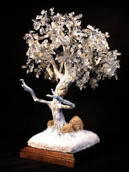 Winter tree spirit by mysticalis