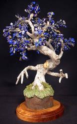 Blue tree spirit by mysticalis