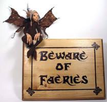 Beware of Faeries III by mysticalis