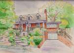 House Illustration AOPaul by AOPaul