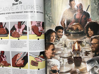 Good Housekeeping Deadpool special by AOPaul