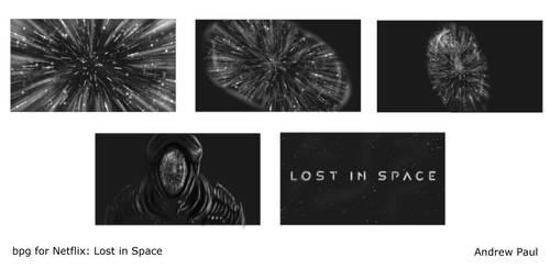 Lost In Space promotional storyboard by AOPaul