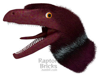 Feathered Velociraptor - 23-04-18 by RaptorBricks