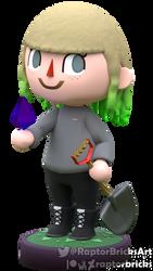 Mr_Rebecca - Animal Crossing model by RaptorBricks