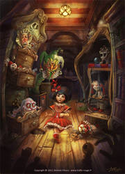 Melinda's Nightmare by Trefle-Rouge