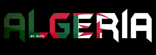 Algeria by Narutoalg