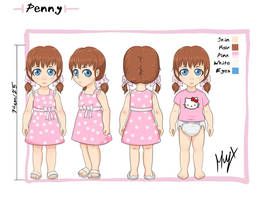 Penny Reference sheets by Muy-x