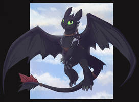 Toothless 2019 by DarkHunter666