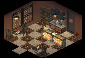 Coffee Shop by lenstu82