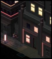 Cyber Punk Streets Set 1 by lenstu82