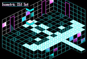 Isometric CGA Set by lenstu82
