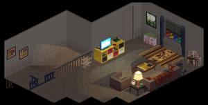 Upstairs Living Space by lenstu82