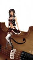 Contest Design Vocaloid Alys : real entry by acetea-san