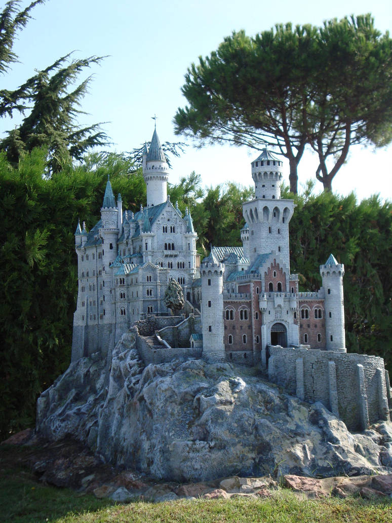 Castle stock by skinywitch