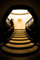 The stair mouth opens wide by kharashov