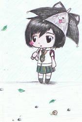 it's raining :O by neko-palyn