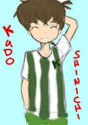 Kudo Shinichi [practiced] by neko-palyn