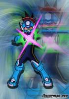 Ryuusei No Rockman Blast by RapidPowerBlast