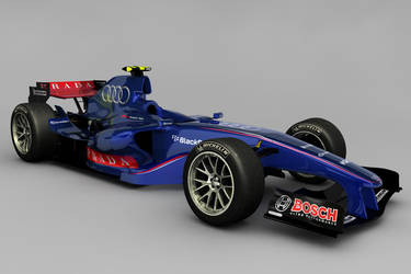 Audi F1 Concept by motionmedia