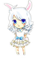Bunny Chibi by Temima