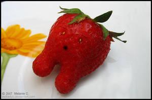 The Strawberry by evilladyc