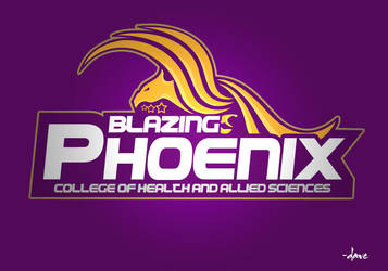 blazing pheonix logo by davealbon