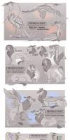 DEITIES Notes Artdump -- [3] Divine Creatures by TeniCola