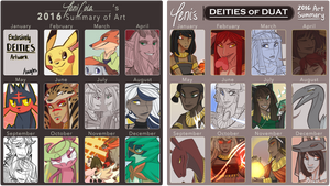 TWICE the Yearly Art Summaries 2016 by TeniCola