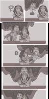 DEITIES || Nut and Geb (Mini comic) by TeniCola