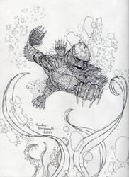Gill Man by Tluaengiad