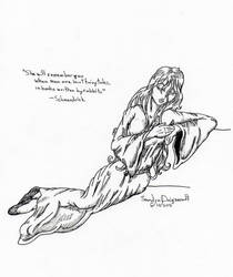 Lady Almalthea by Tluaengiad